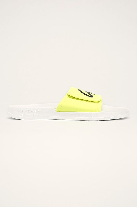 žltá Calvin Klein Underwear - Šľapky Pánsky