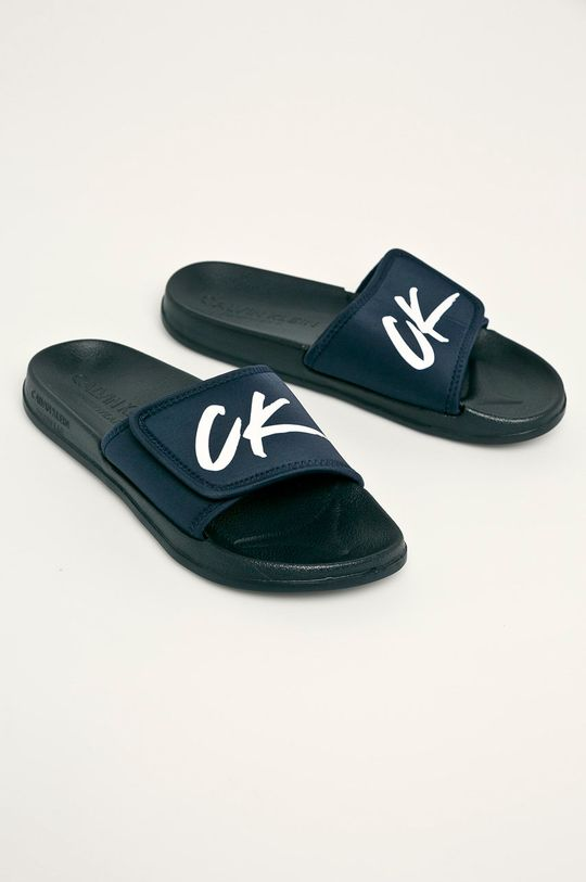 Calvin Klein Underwear - Pantofle námořnická modř