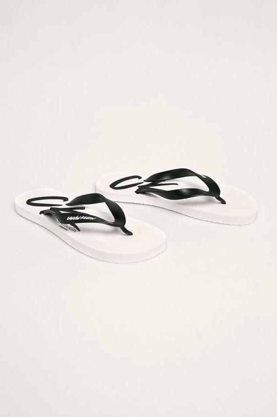 Calvin Klein Underwear - žabky bílá