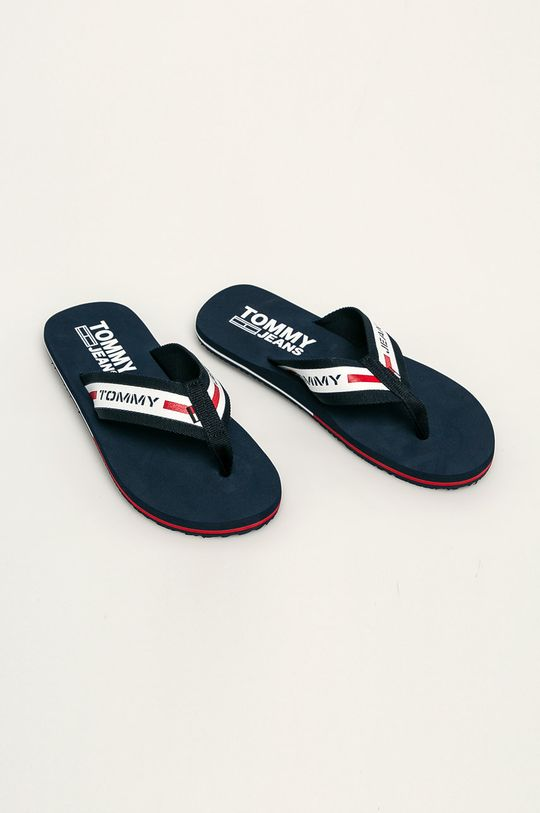 Tommy Jeans - Žabky tmavomodrá