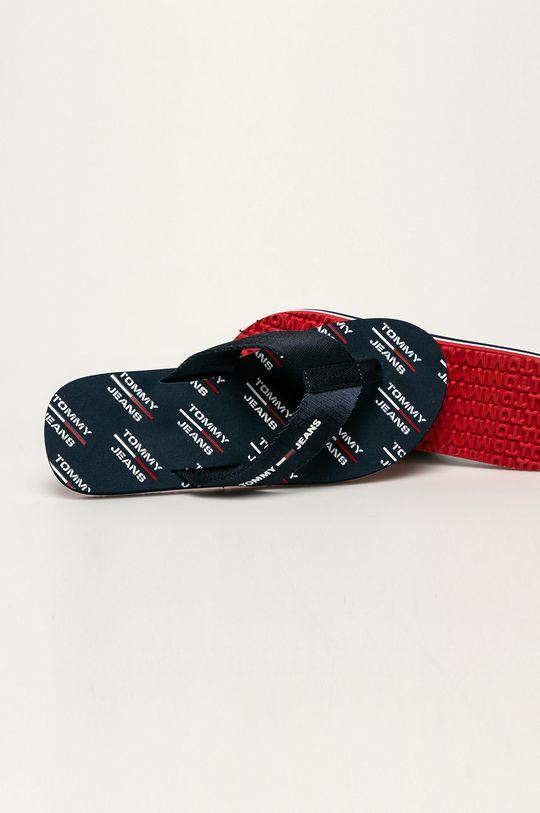 Tommy Jeans - Žabky Svršek: Textilní materiál Vnitřek: Umělá hmota, Textilní materiál Podrážka: Umělá hmota