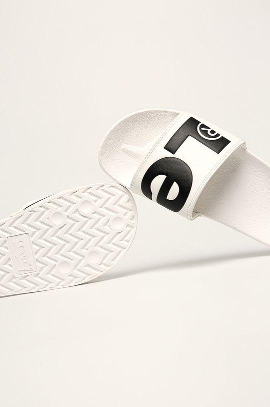 Levi's - Pantofle Svršek: Umělá hmota Vnitřek: Umělá hmota, Textilní materiál Podrážka: Umělá hmota