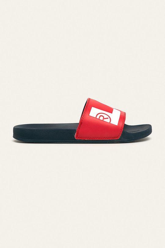 červená Levi's - Pantofle Pánský