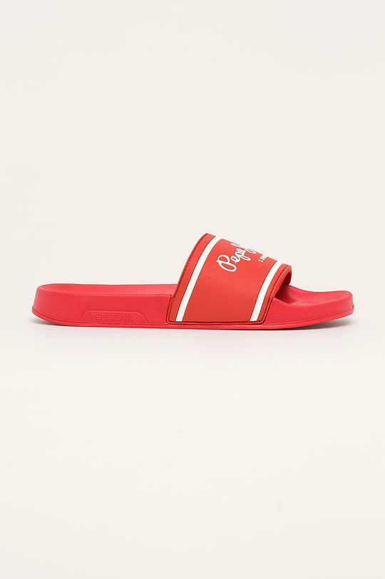 rosu Pepe Jeans - Papuci Slider Basic De bărbați