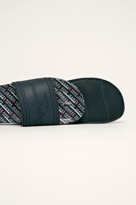 Pepe Jeans - Šľapky Slider All Over  Zvršok: Syntetická látka Vnútro: Textil Podrážka: Syntetická látka