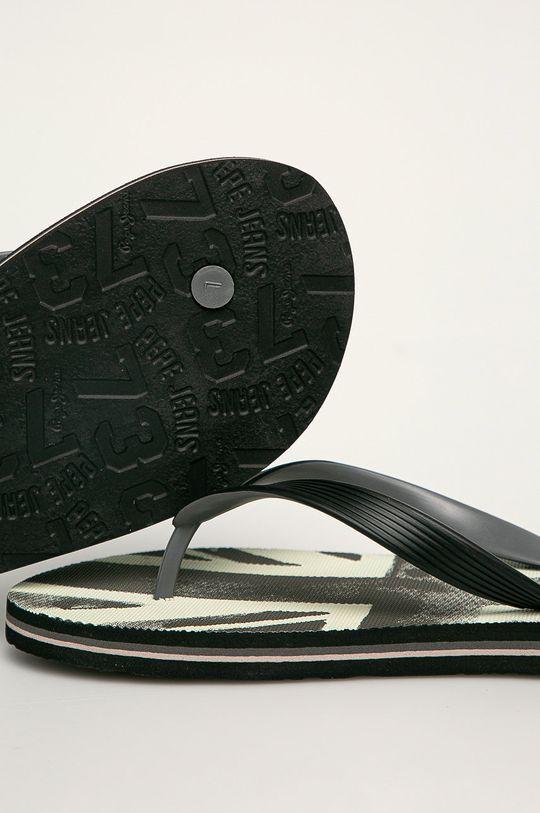 Pepe Jeans - Slapi Hawi Banner Gamba: Material sintetic Interiorul: Material sintetic Talpa: Material sintetic