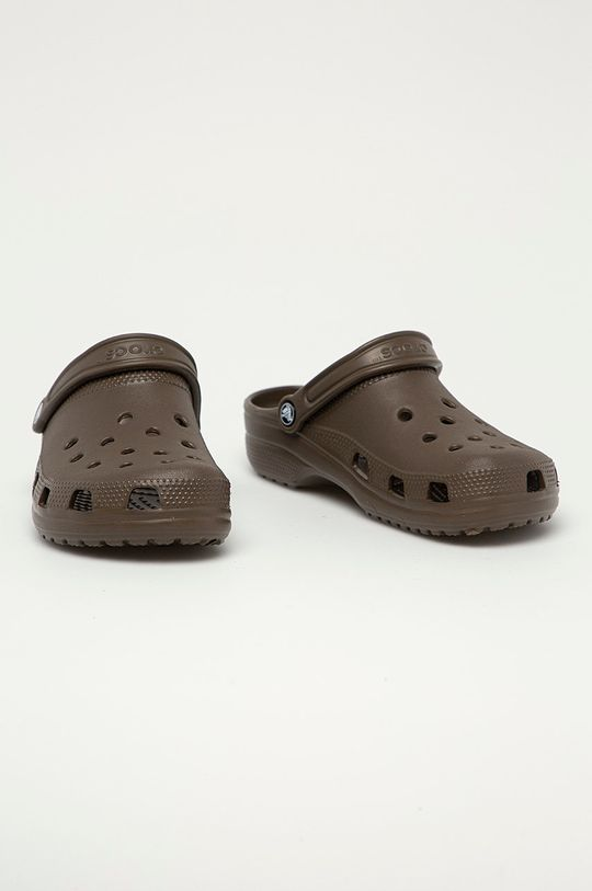 Crocs - Klapki kawowy