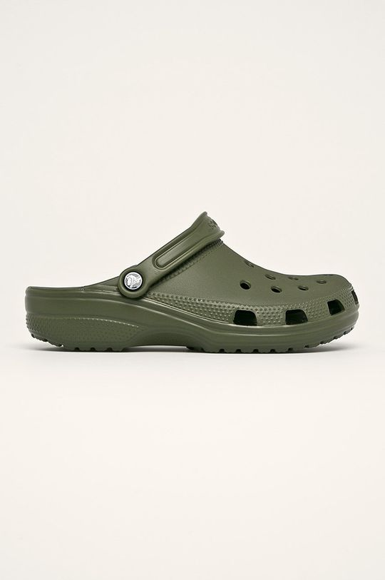 oliwkowy Crocs - Klapki Męski