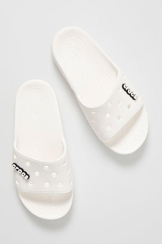 Crocs - Šľapky biela