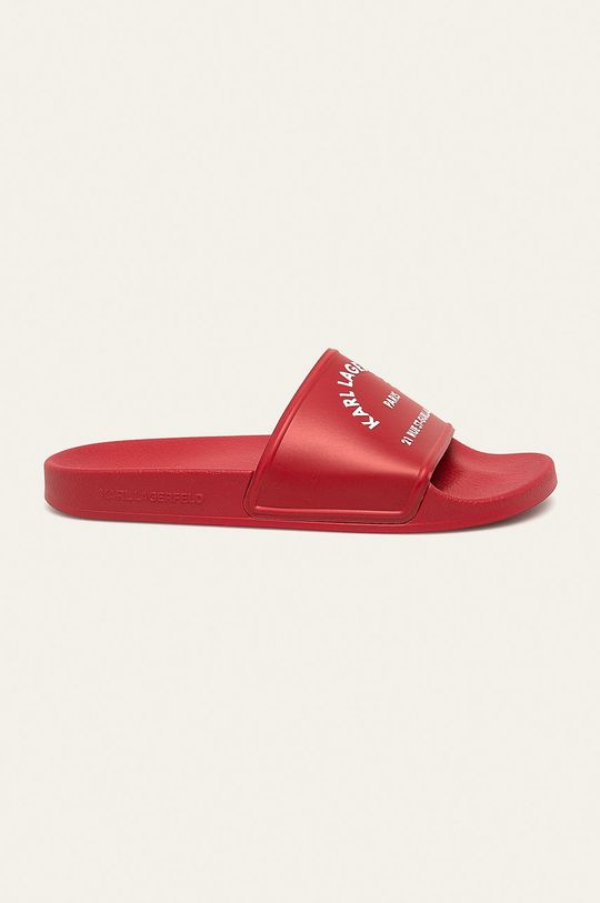 červená Karl Lagerfeld - Šlapky Pánsky