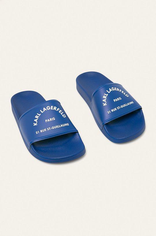 Karl Lagerfeld - Pantofle modrá