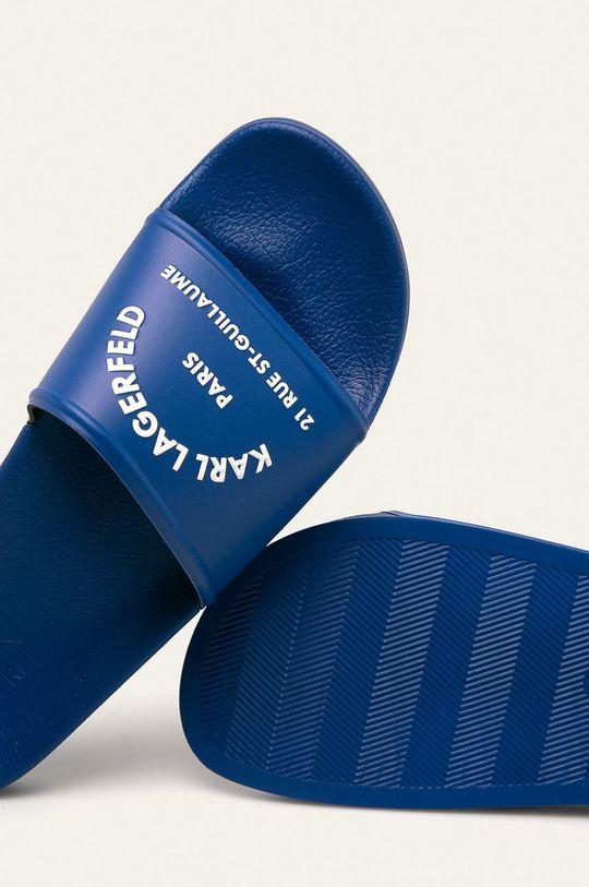 modrá Karl Lagerfeld - Pantofle
