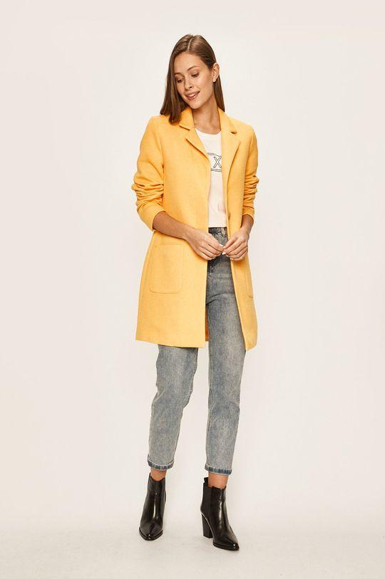 Only - Kabát žlutá