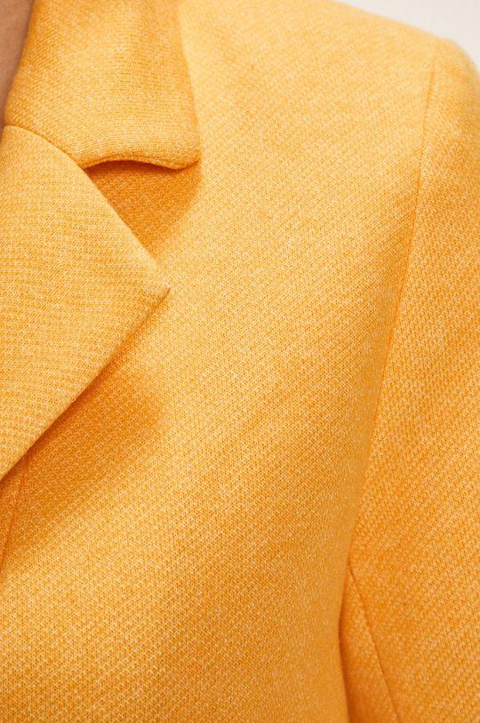 žlutá Only - Kabát