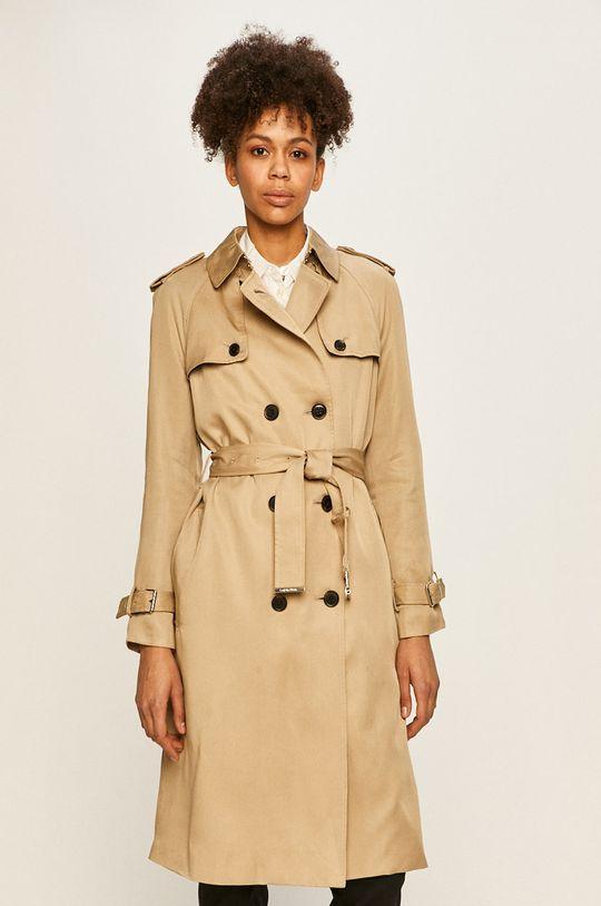 béžová Calvin Klein - Trench kabát Dámský