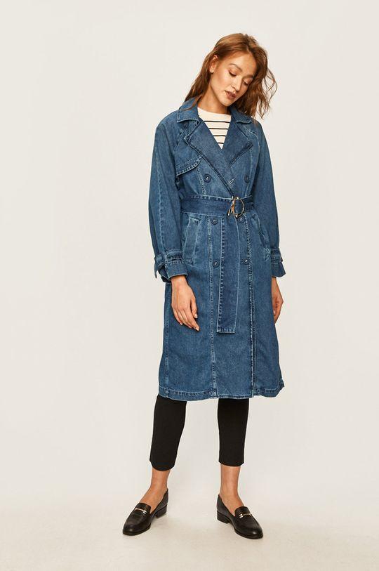 Patrizia Pepe - Džínový kabát modrá