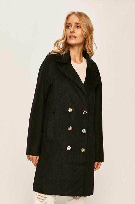 černá Desigual - Kabát Dámský