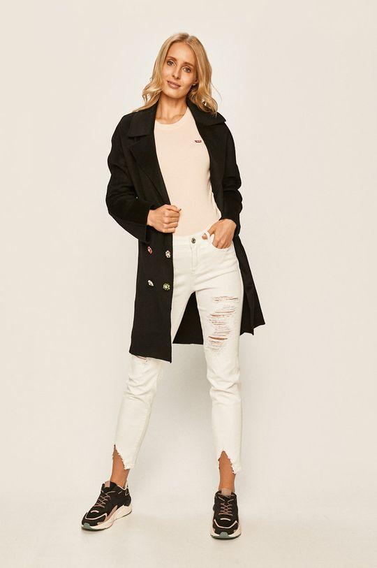 Desigual - Kabát černá