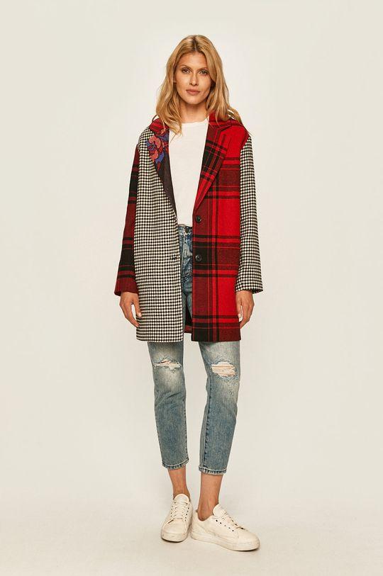 Desigual - Kabát vícebarevná