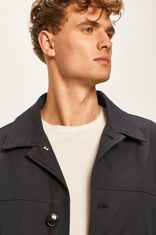 tmavomodrá Tommy Hilfiger Tailored - Kabát