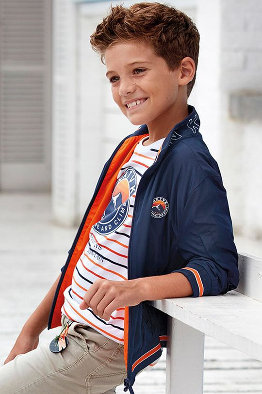 bleumarin Mayoral - Geaca reversibila pentru copii 128-172 cm De băieți