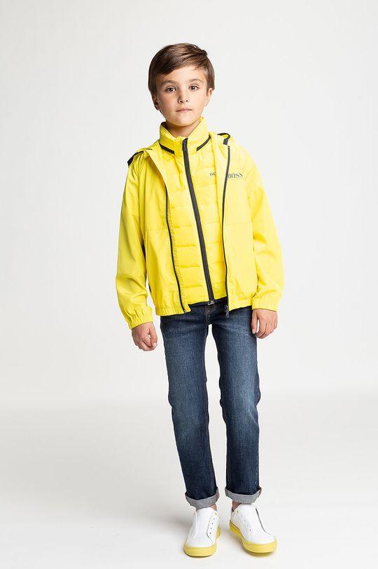 jasně žlutá Boss - Dětská bunda 164-176 cm Chlapecký