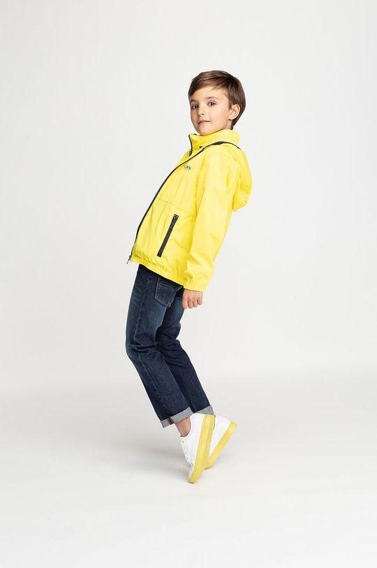 Boss - Dětská bunda 164-176 cm jasně žlutá