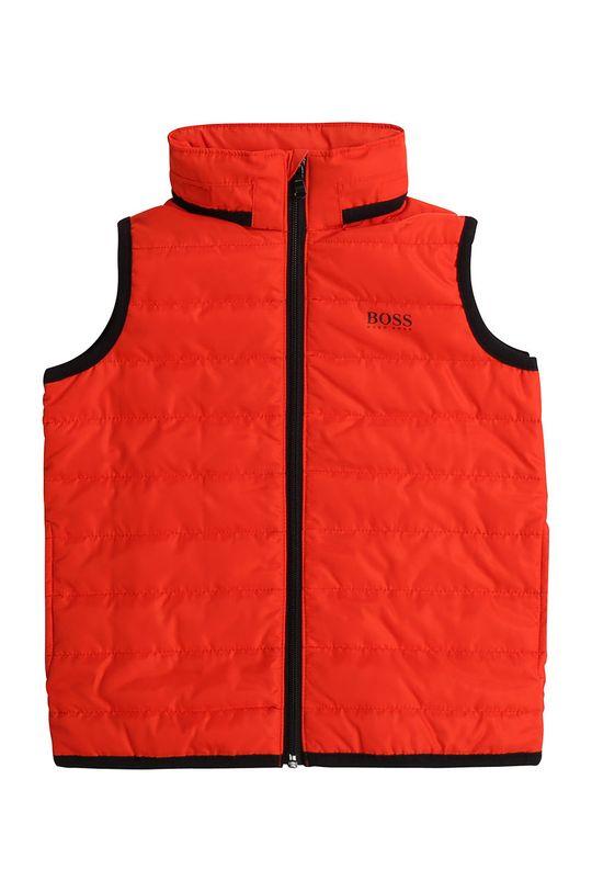 Boss - Dětská vesta 116-152 cm červená