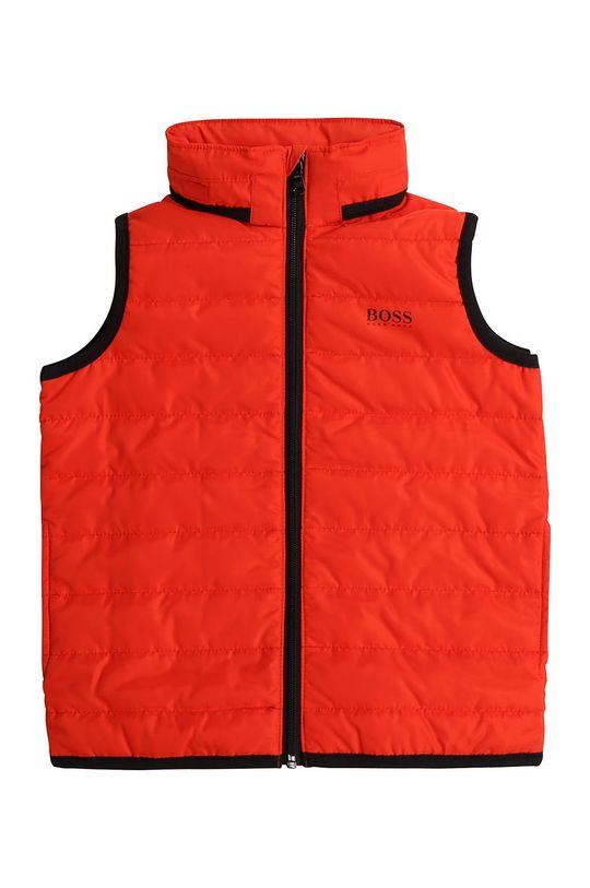 Boss - Dětská vesta 164-176 cm červená