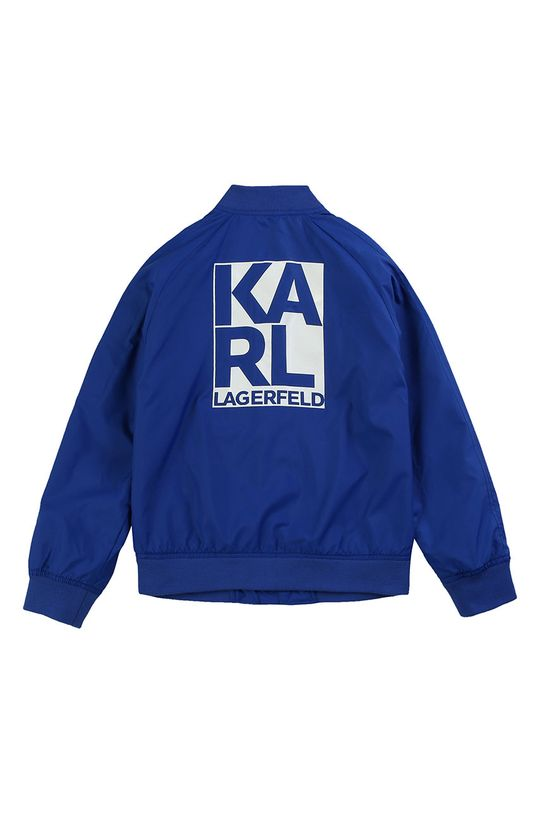 albastru Karl Lagerfeld - Geaca bomber pentru copii 162-174 cm