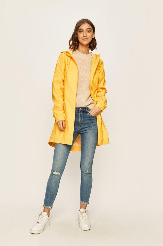 Only - Nepromokavá bunda žlutá