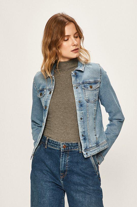 albastru Only - Geaca jeans De femei
