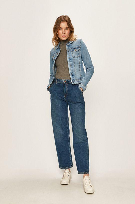 Only - Kurtka jeansowa niebieski