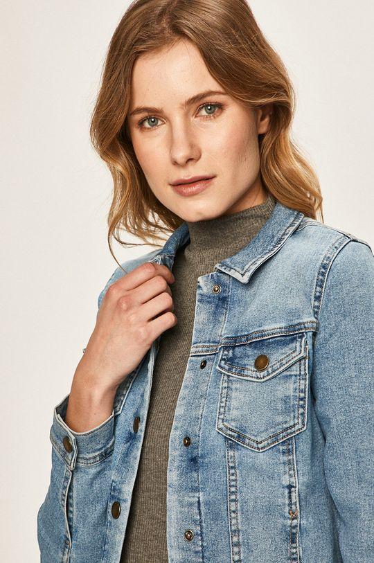 niebieski Only - Kurtka jeansowa
