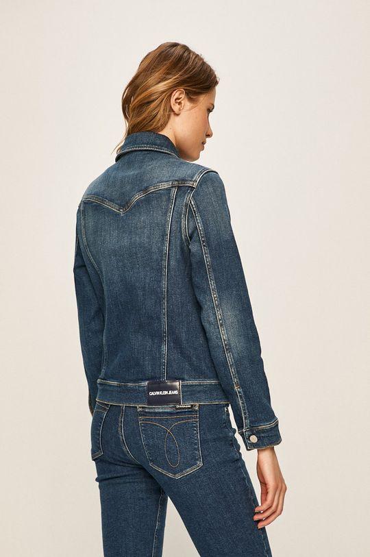 Calvin Klein Jeans - Geaca jeans 99% Bumbac, 1% Elastan