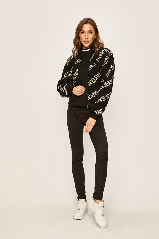 Calvin Klein Jeans - Geaca negru