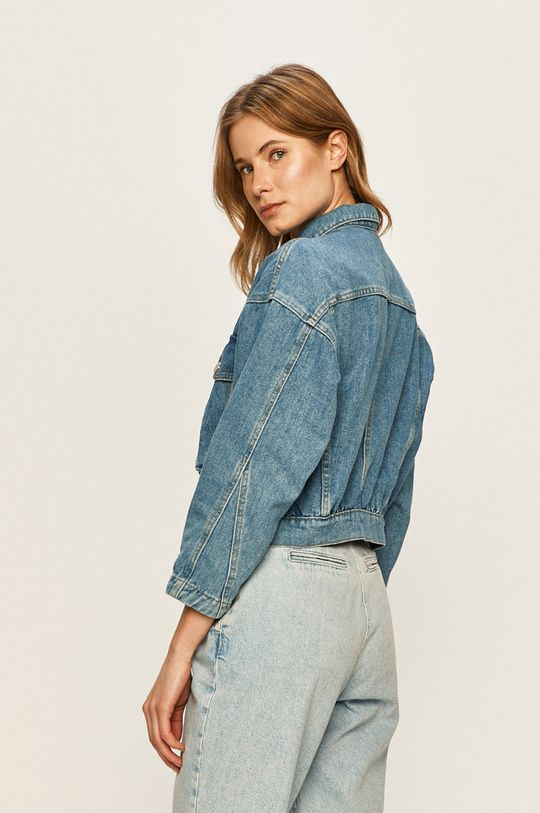 Only - Kurtka jeansowa 2 % Akryl, 47 % Bawełna, 17 % Poliester, 34 % Wiskoza