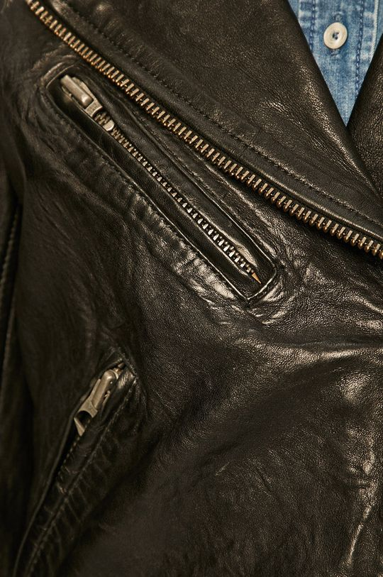 Pepe Jeans - Ramoneska skórzana Bera Damski