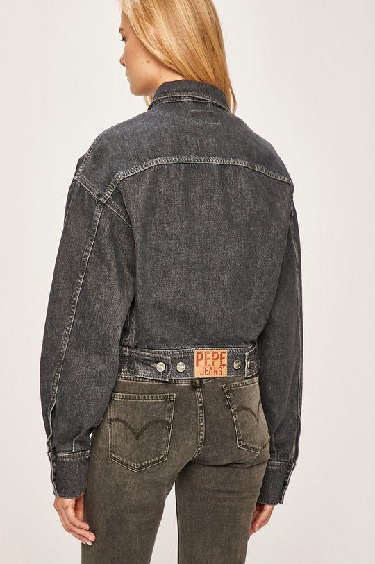 Pepe Jeans - Džínová bunda Sue 100% Bavlna