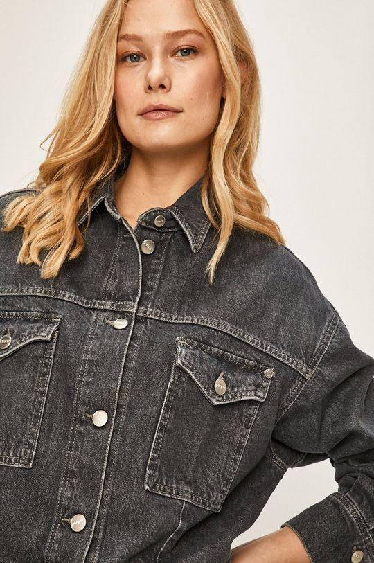námořnická modř Pepe Jeans - Džínová bunda Sue