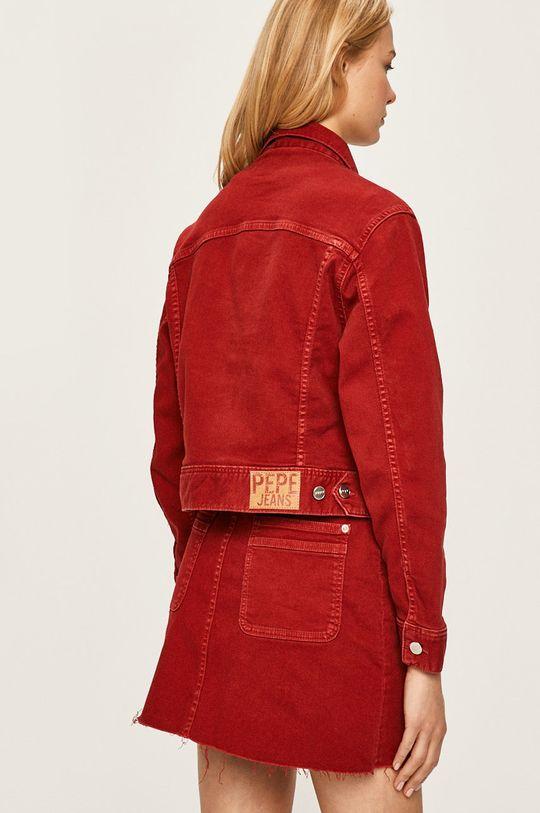 Pepe Jeans - Rifľová bunda Tiffany  91% Bavlna, 2% Elastan, 7% Polyester