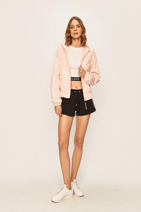 Calvin Klein Jeans - Bunda pastelová ružová
