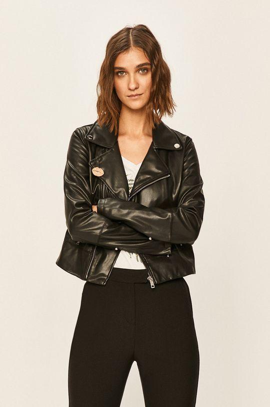 negru Guess Jeans - Geaca ramones De femei