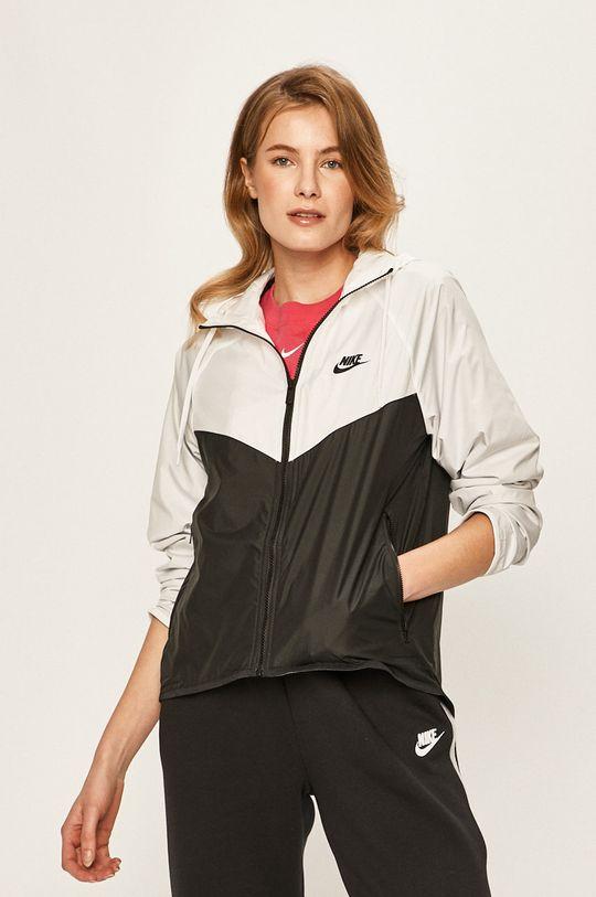 bílá Nike Sportswear - Bunda Dámský