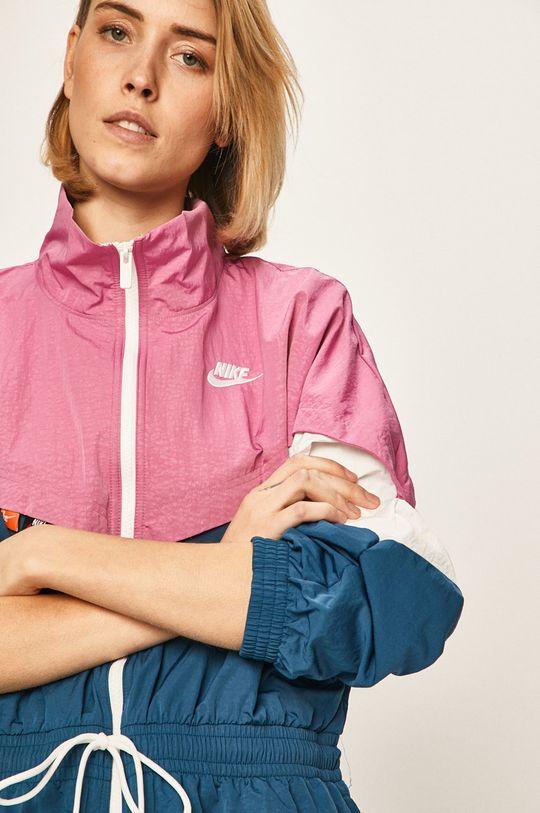 fuchsiová Nike Sportswear - Parka