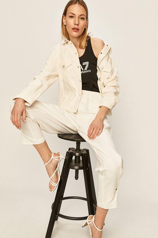 bílá Tommy Hilfiger - Džínová bunda Icons