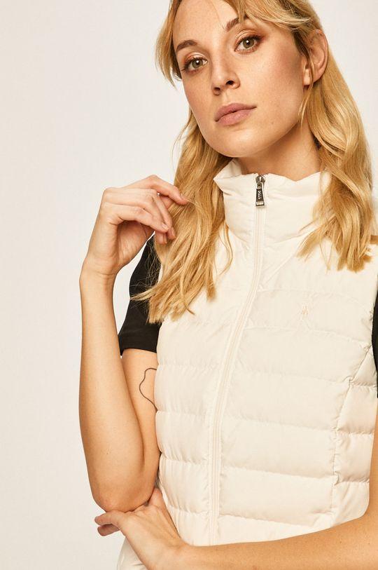 bílá Polo Ralph Lauren - Péřová vesta
