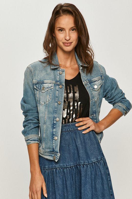 niebieski Pepe Jeans - Kurtka jeansowa Rose Damski