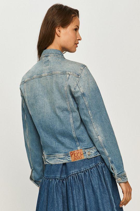 Pepe Jeans - Kurtka jeansowa Rose 99 % Bawełna, 1 % Elastan