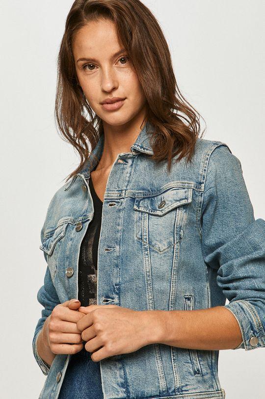 niebieski Pepe Jeans - Kurtka jeansowa Rose